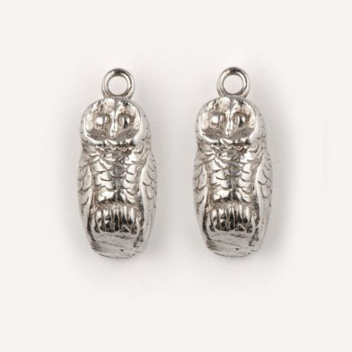 Tawny Owls - Earrings: click to enlarge