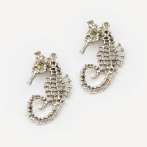 Small Seahorses - Earrings